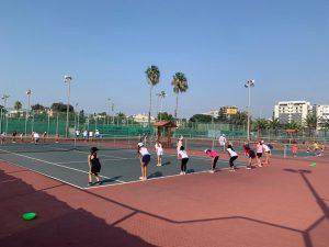 40 ילדות השתתפו ביום מבדקים של פרויקט אתנה באיגוד הטניס