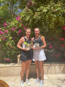 גלושקו זכתה בזוגות במצרים, טרכטנברג פינאליסט ITF בגאנה