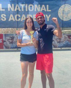 נועה מאיור זכתה בתחרות ITF ברמת השרון
